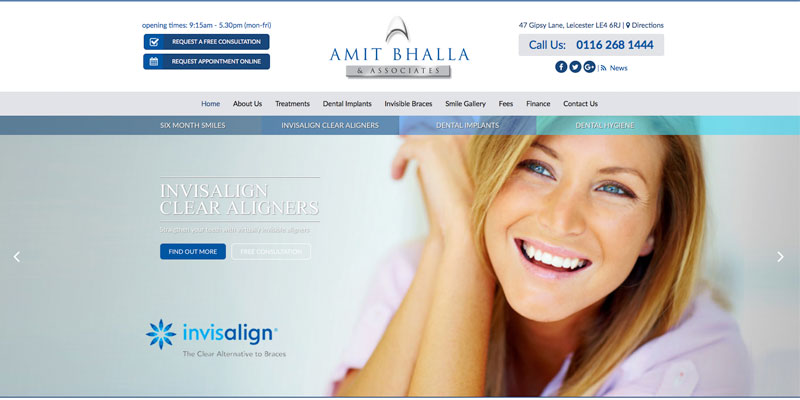 Gipsy Lane Dental - New Website Live